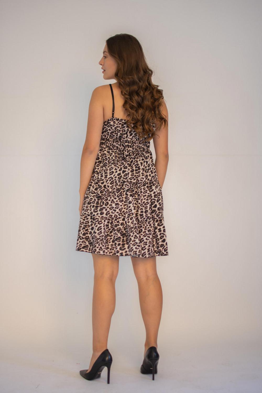 Sukienka seksowna panterka na ramiączkach Martha 1
