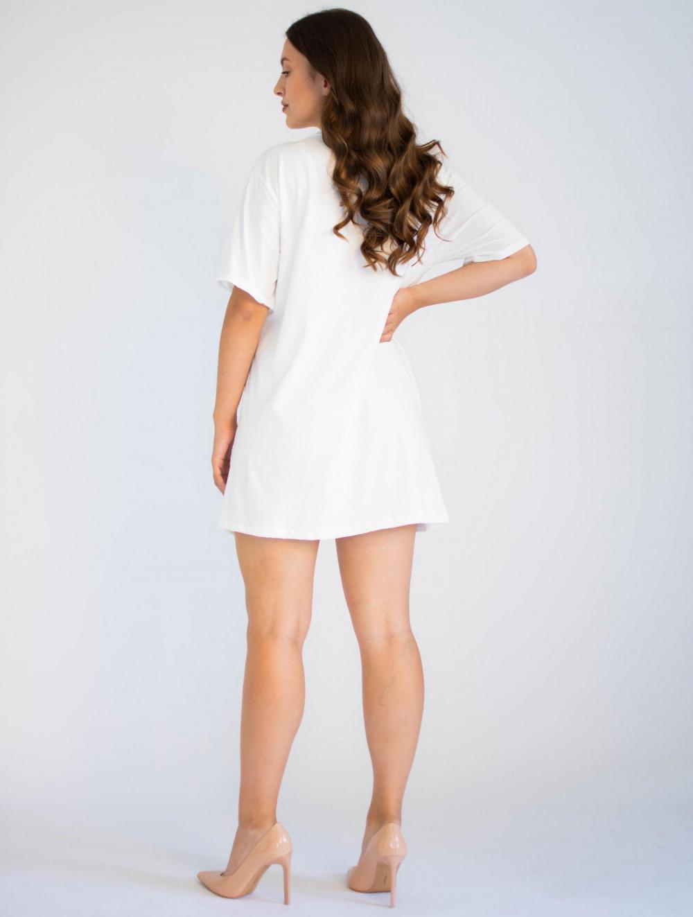 Bawełniana sukienka typu t-shirt z oryginalnym nadrukiem Mickey Mouse Lily 1