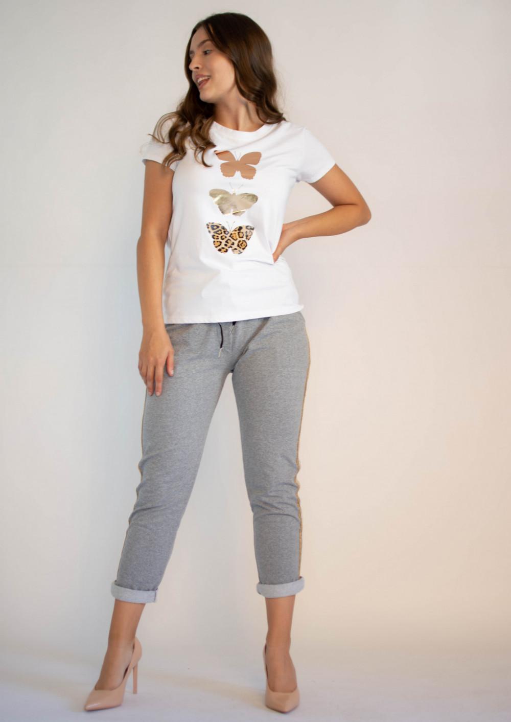 Koszulka z motywem motyli Mosqui 2