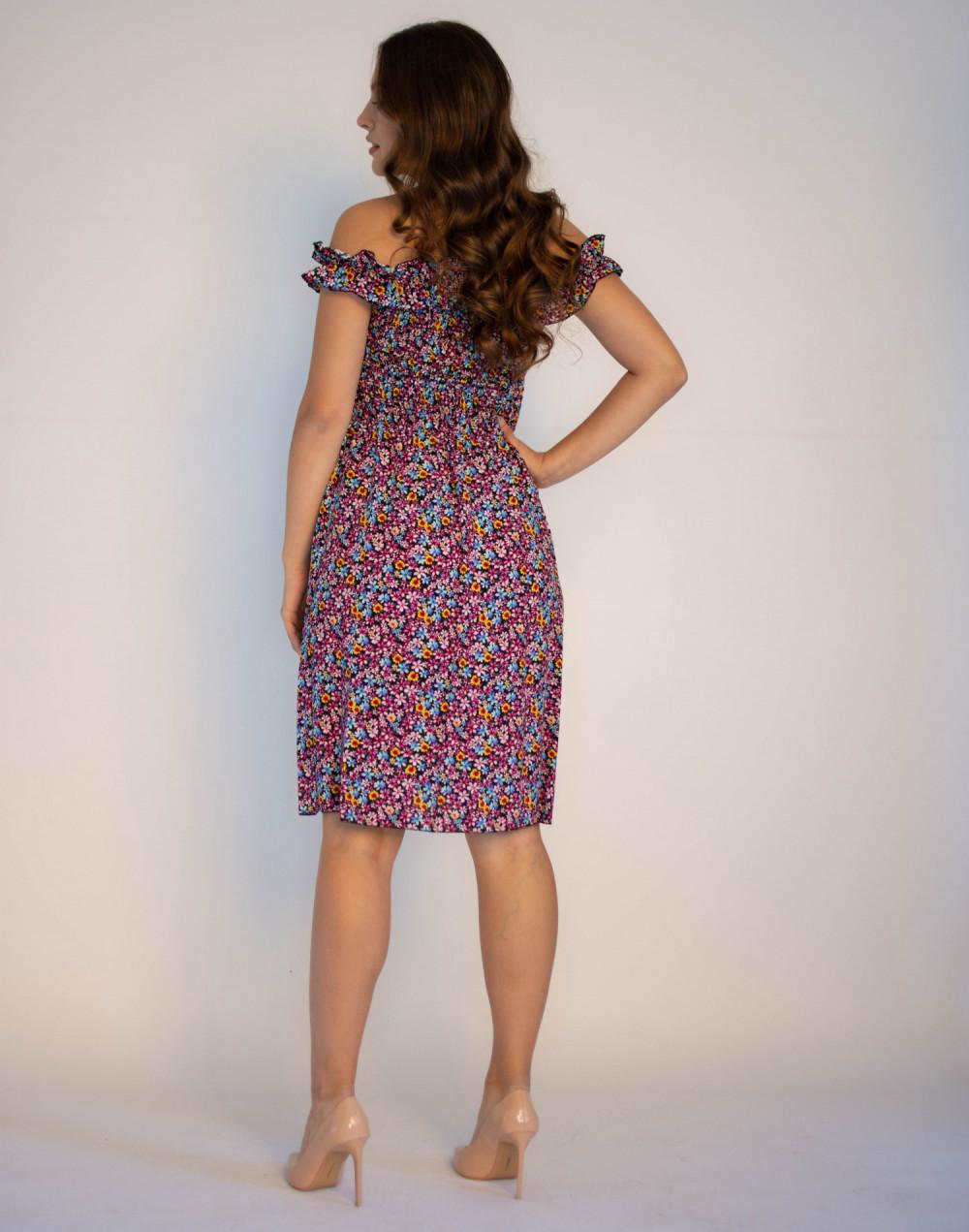 Kwiatowa sukienka hiszpanka Amelie 1