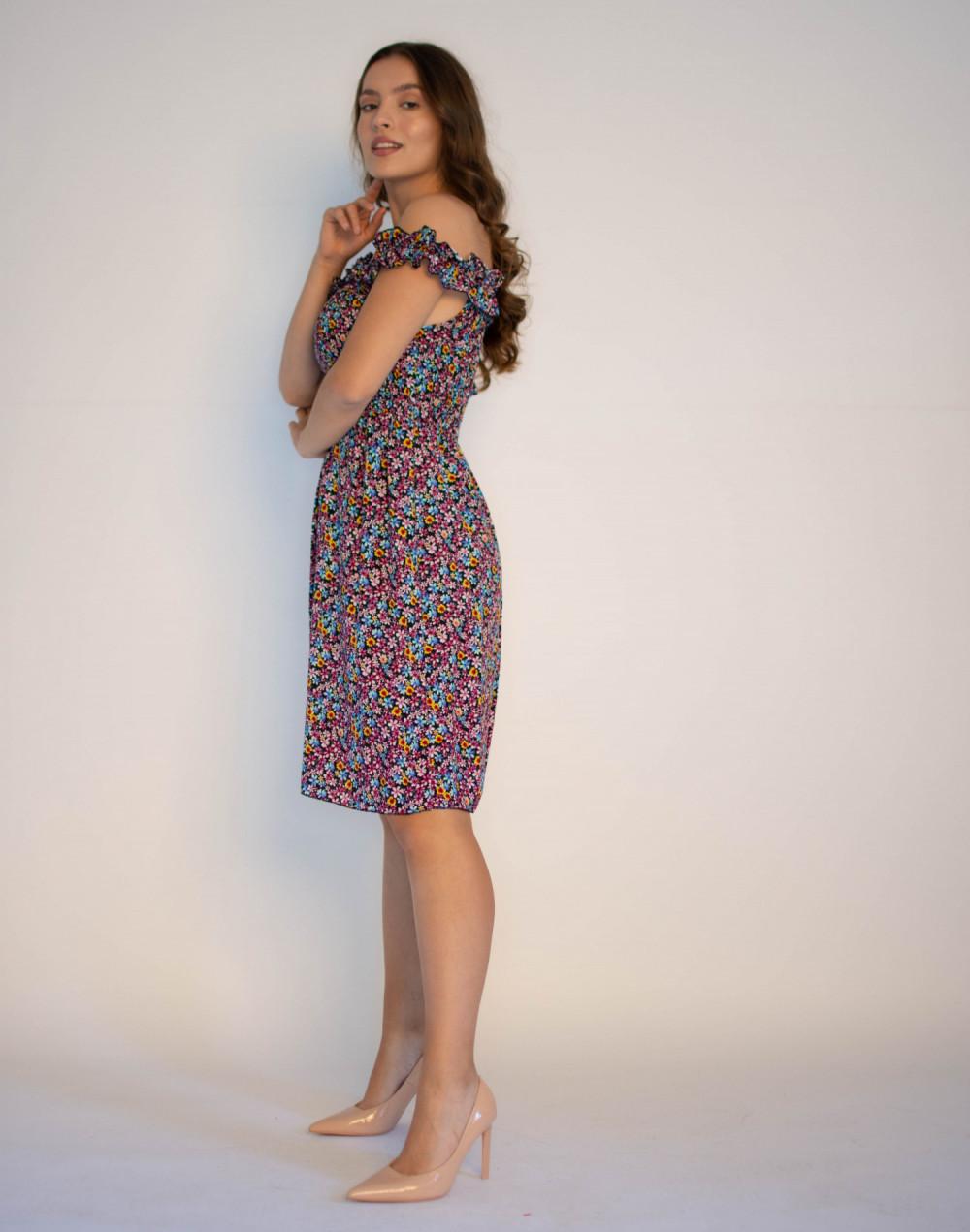 Kwiatowa sukienka hiszpanka Amelie 2