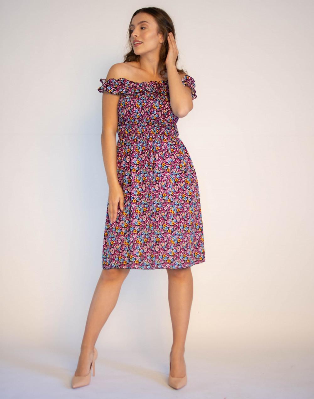Kwiatowa sukienka hiszpanka Amelie 3