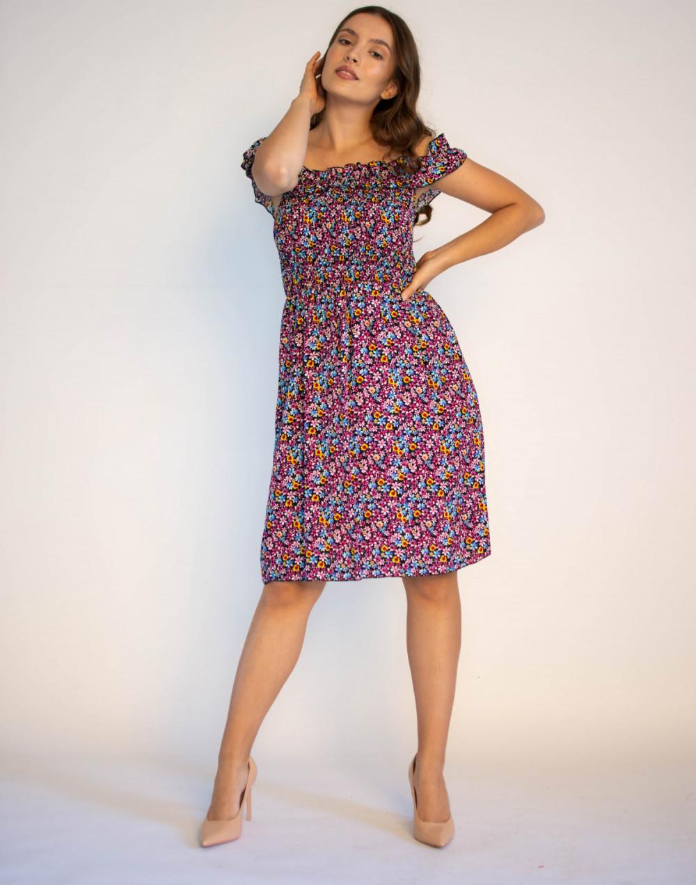 Kwiatowa sukienka hiszpanka Amelie 4