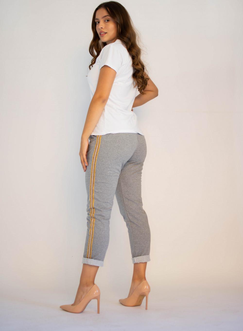 Spodnie dresowe damskie z lampasami Cordelia 1