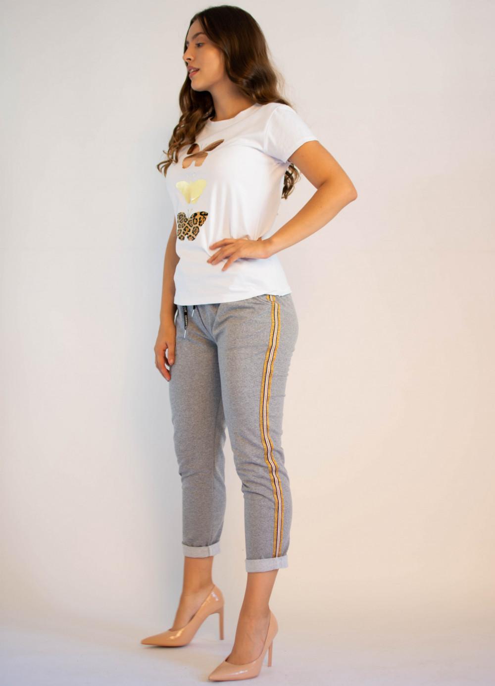 Spodnie dresowe damskie z lampasami Cordelia 2