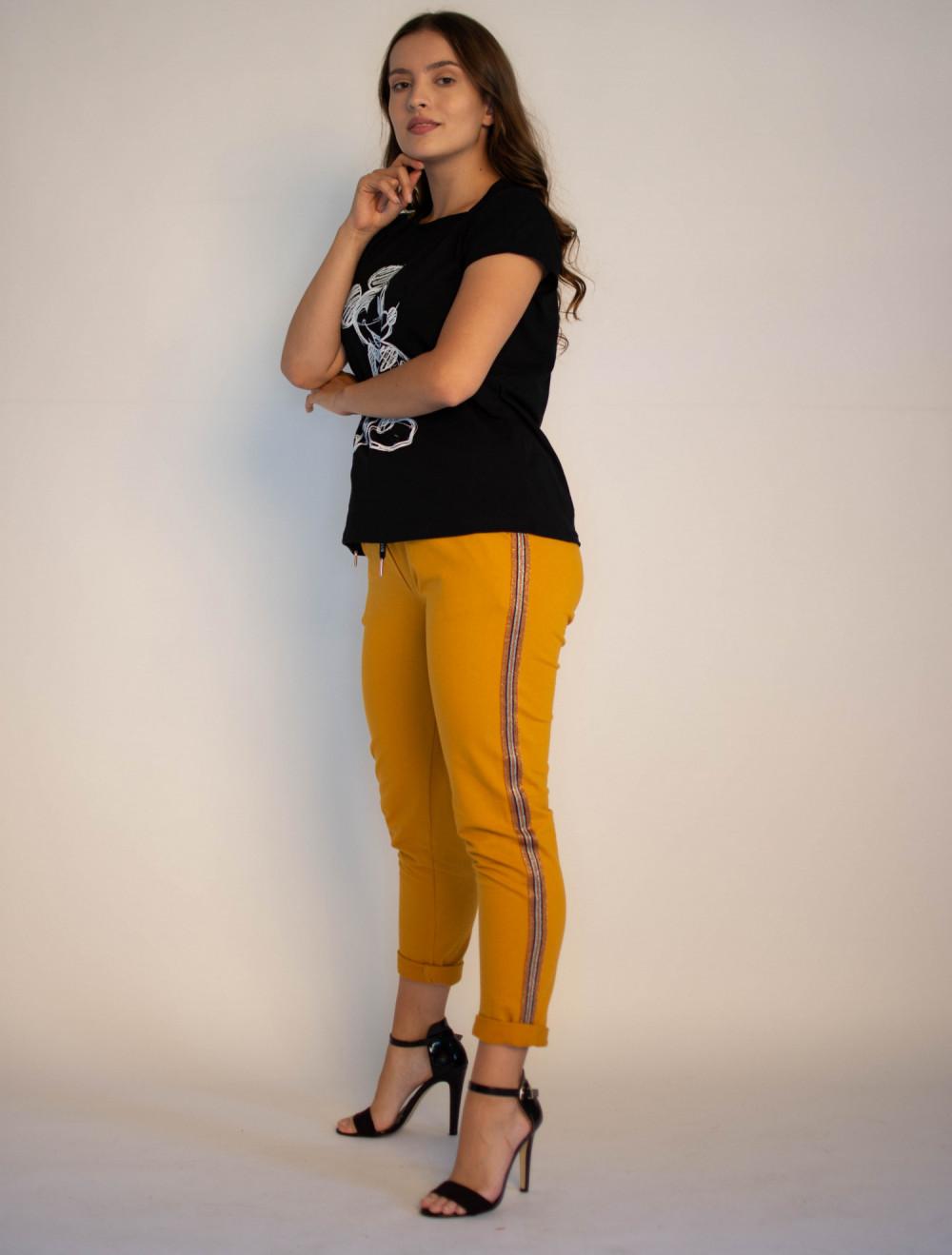 Spodnie dresowe damskie z lampasami Cynthia 2