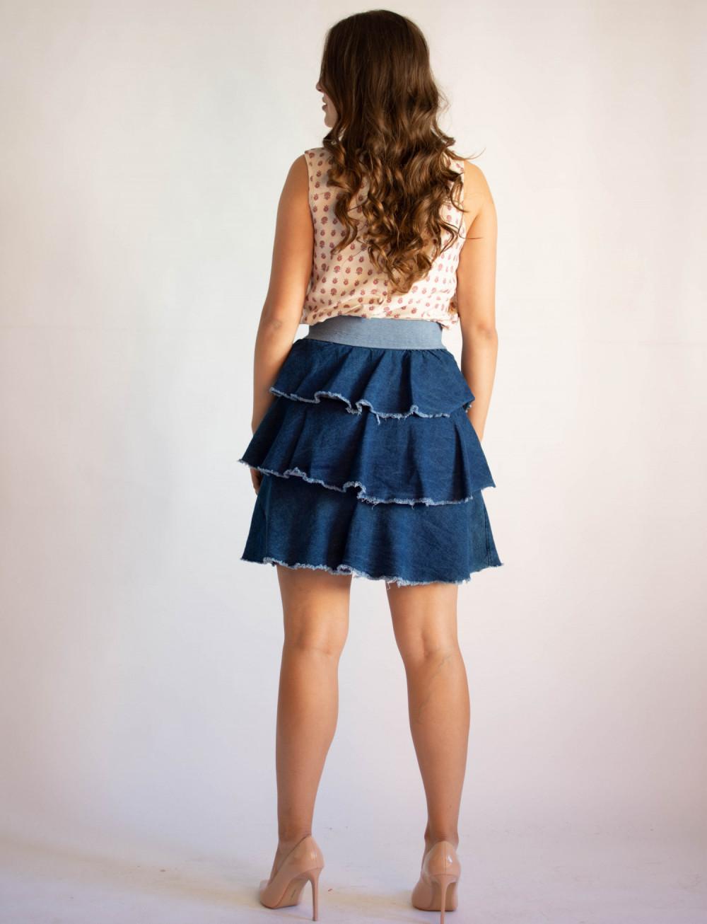 Spódniczka damska denim jeansowa Isabel 1