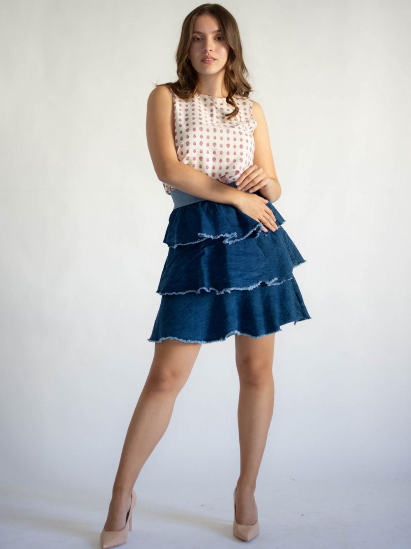 Spódniczka damska denim jeansowa Isabel 3