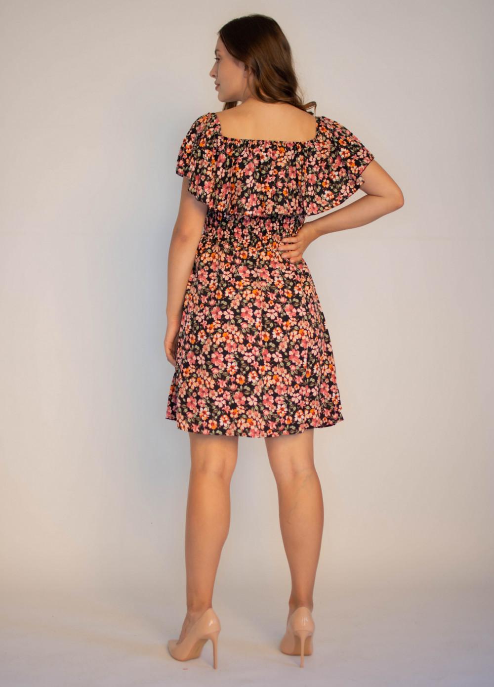 Sukienka damska hiszpanka w kwiaty Agnes 1