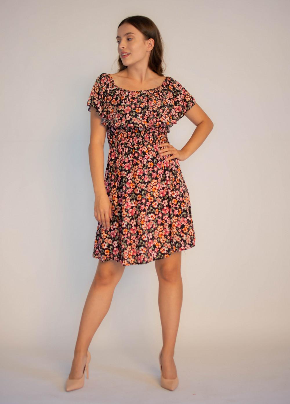 Sukienka damska hiszpanka w kwiaty Agnes 3
