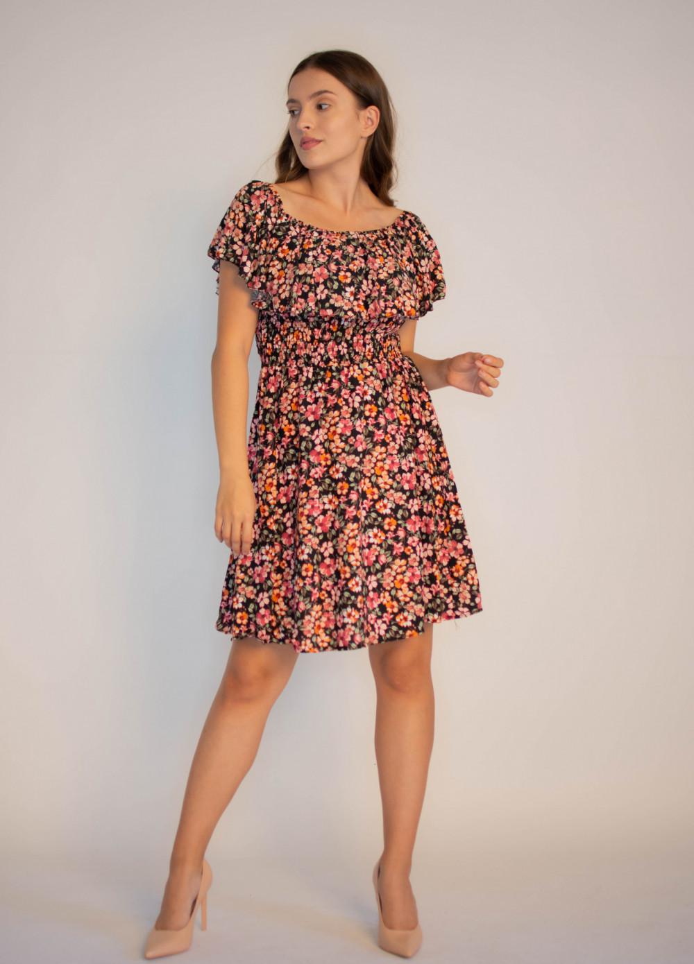 Sukienka damska hiszpanka w kwiaty Agnes 4