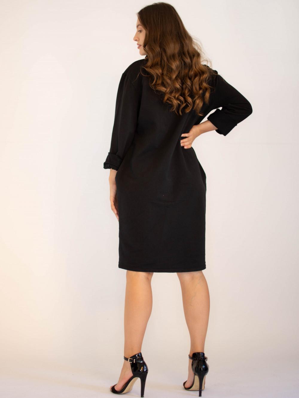 Sukienka dresowa oversize z oryginalnym nadrukiem Grace 1