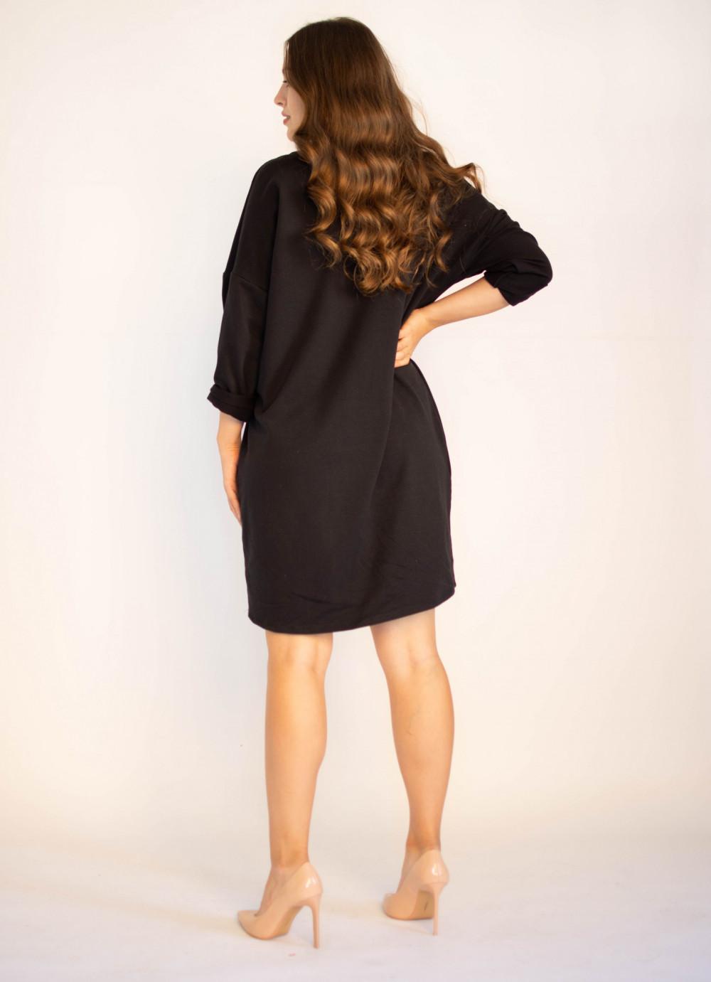 Sukienka dresowa z modnym nadrukiem Sophie 1