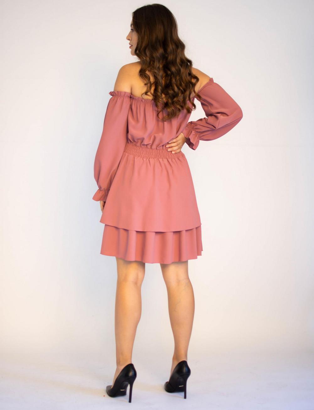 Sukienka hiszpanka z długim rękawem Carolyn 1