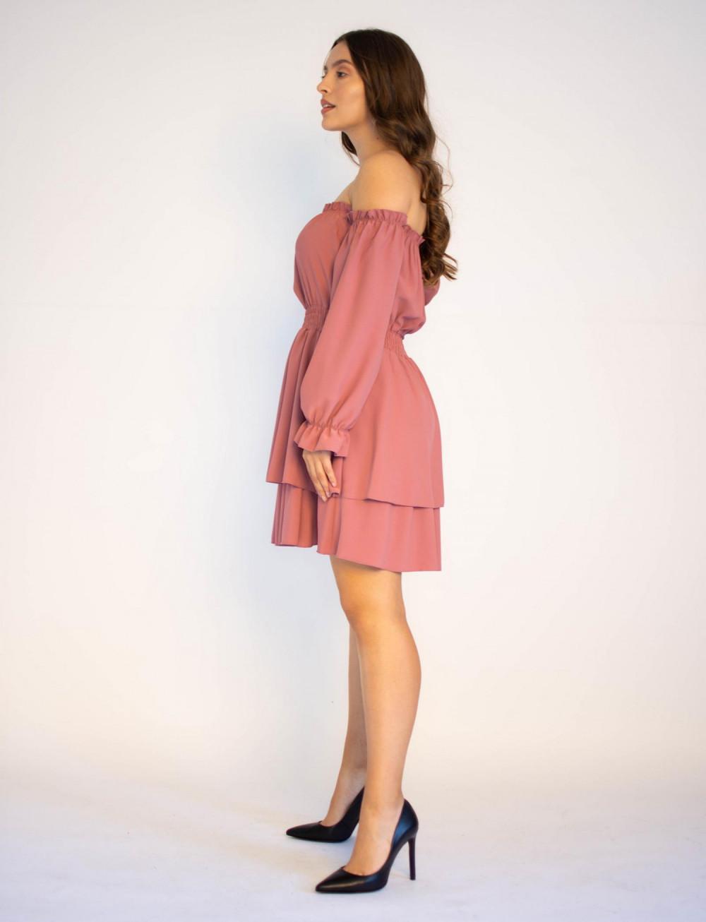 Sukienka hiszpanka z długim rękawem Carolyn 2