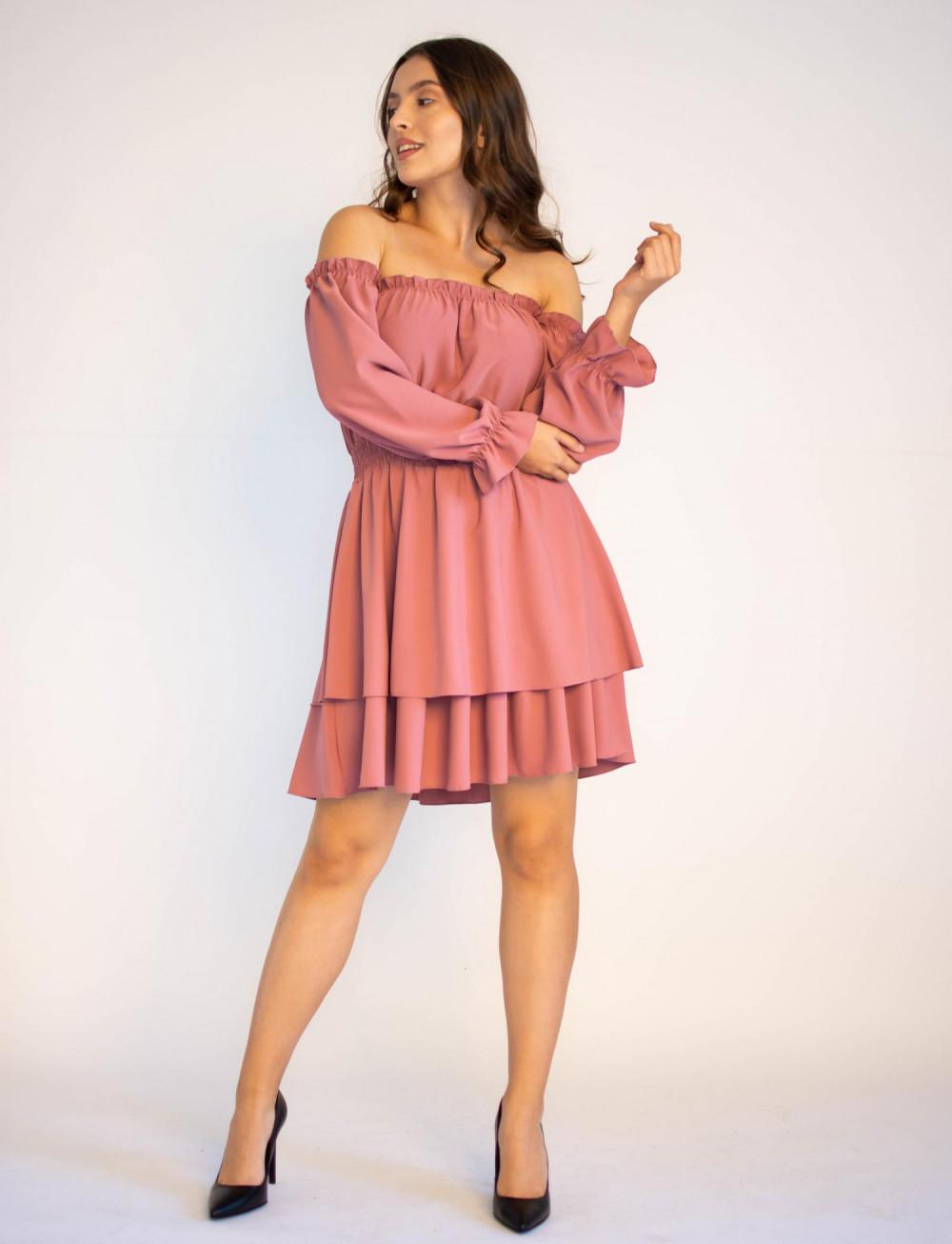 Sukienka hiszpanka z długim rękawem Carolyn 3