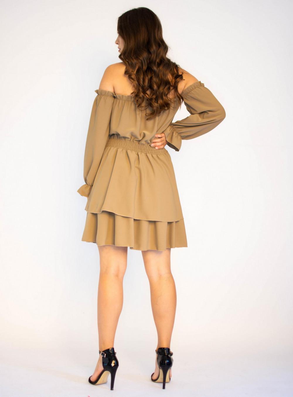 Sukienka hiszpanka z długim rękawem Cecylie 1