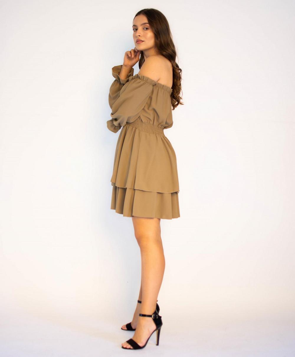 Sukienka hiszpanka z długim rękawem Cecylie 2