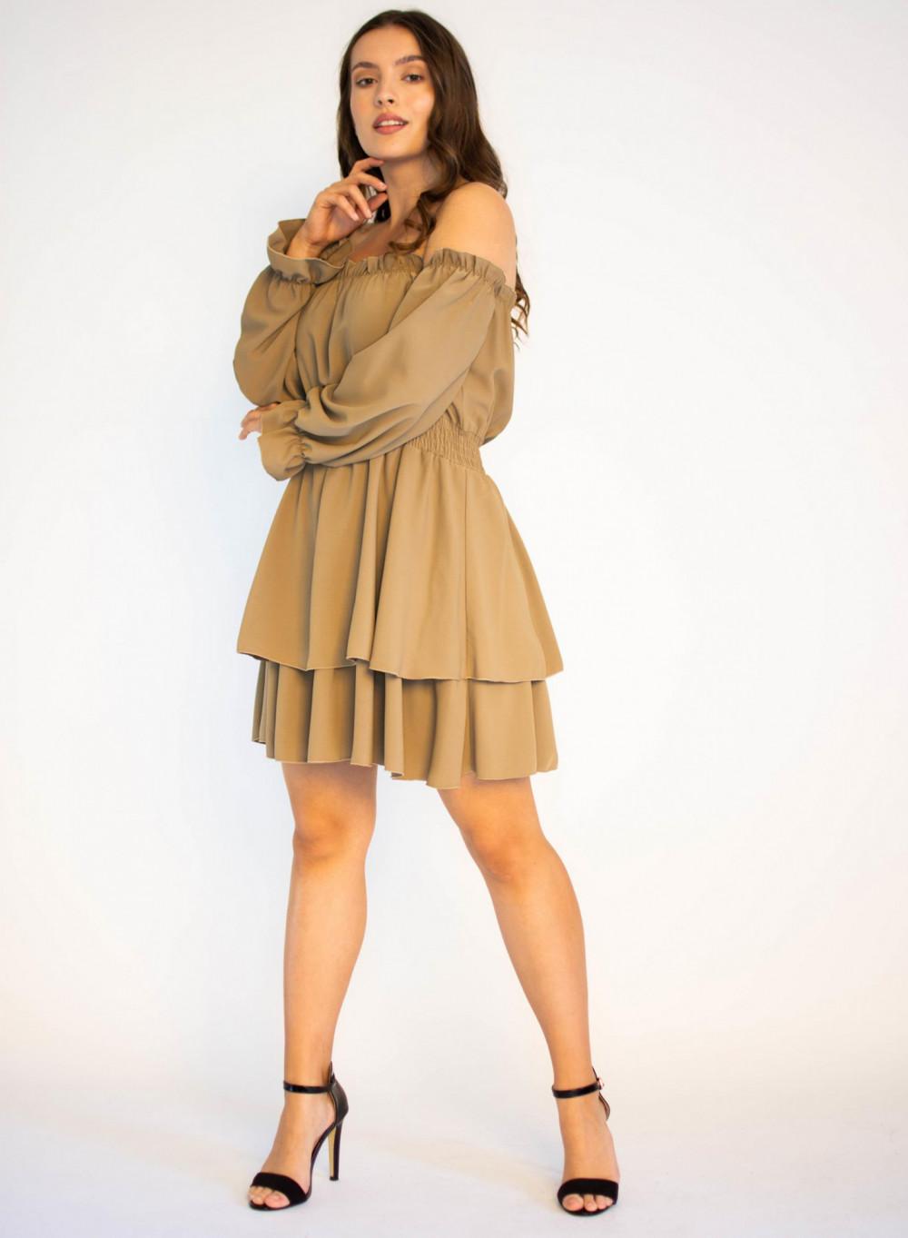 Sukienka hiszpanka z długim rękawem Cecylie 3