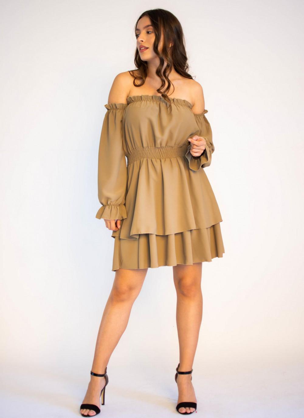 Sukienka hiszpanka z długim rękawem Cecylie 4