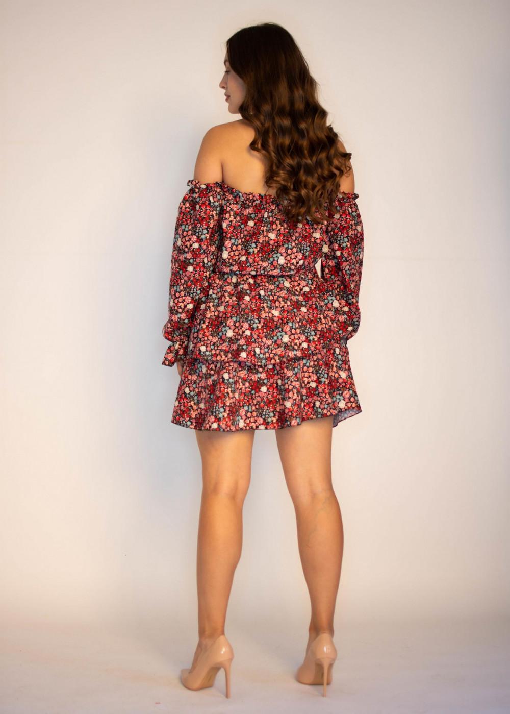 Sukienka hiszpanka z falbankami Alice 1