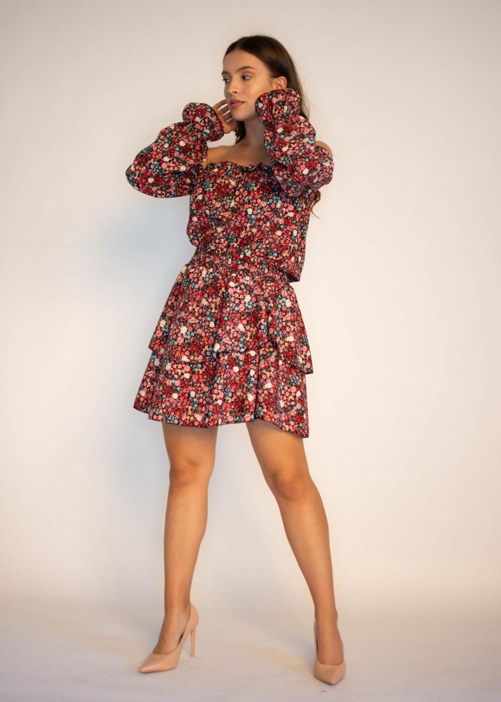 Sukienka hiszpanka z falbankami Alice 3