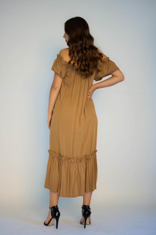 Sukienka hiszpanka z falbankami midi Catherine 1