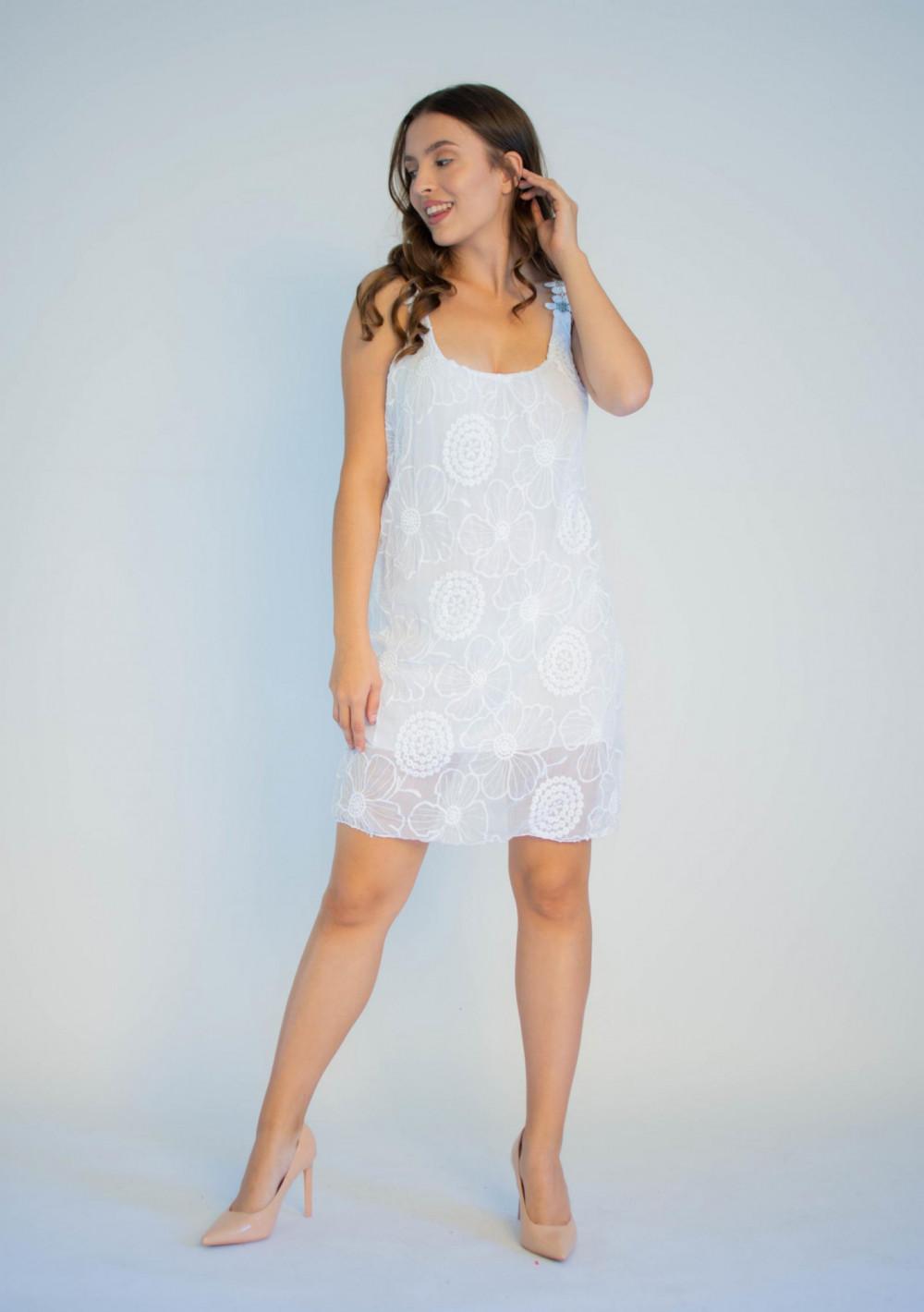 Sukienka koronkowa na ramiączkach Katie 3