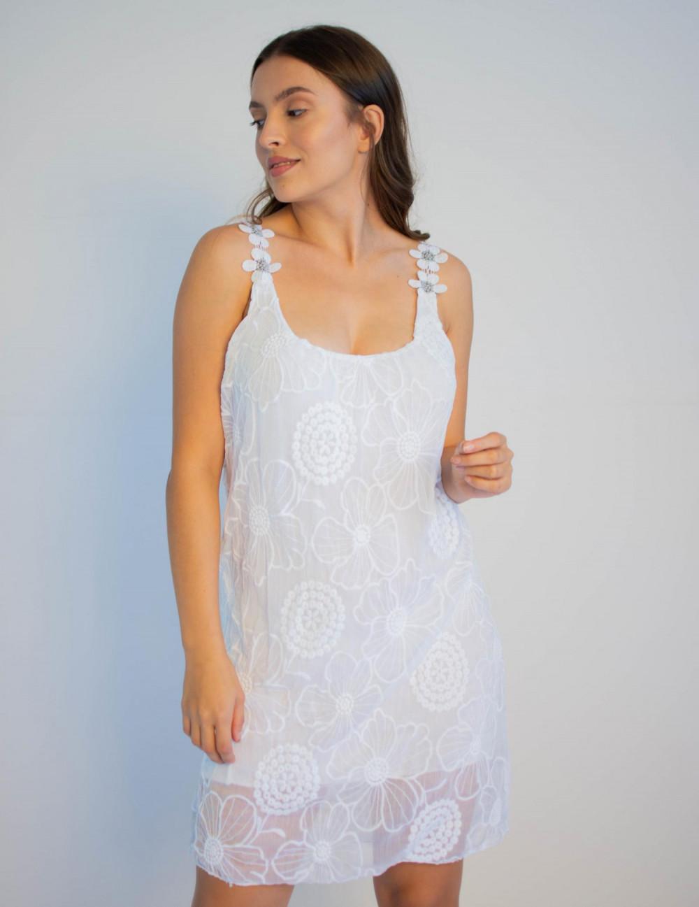 Sukienka koronkowa na ramiączkach Katie 4