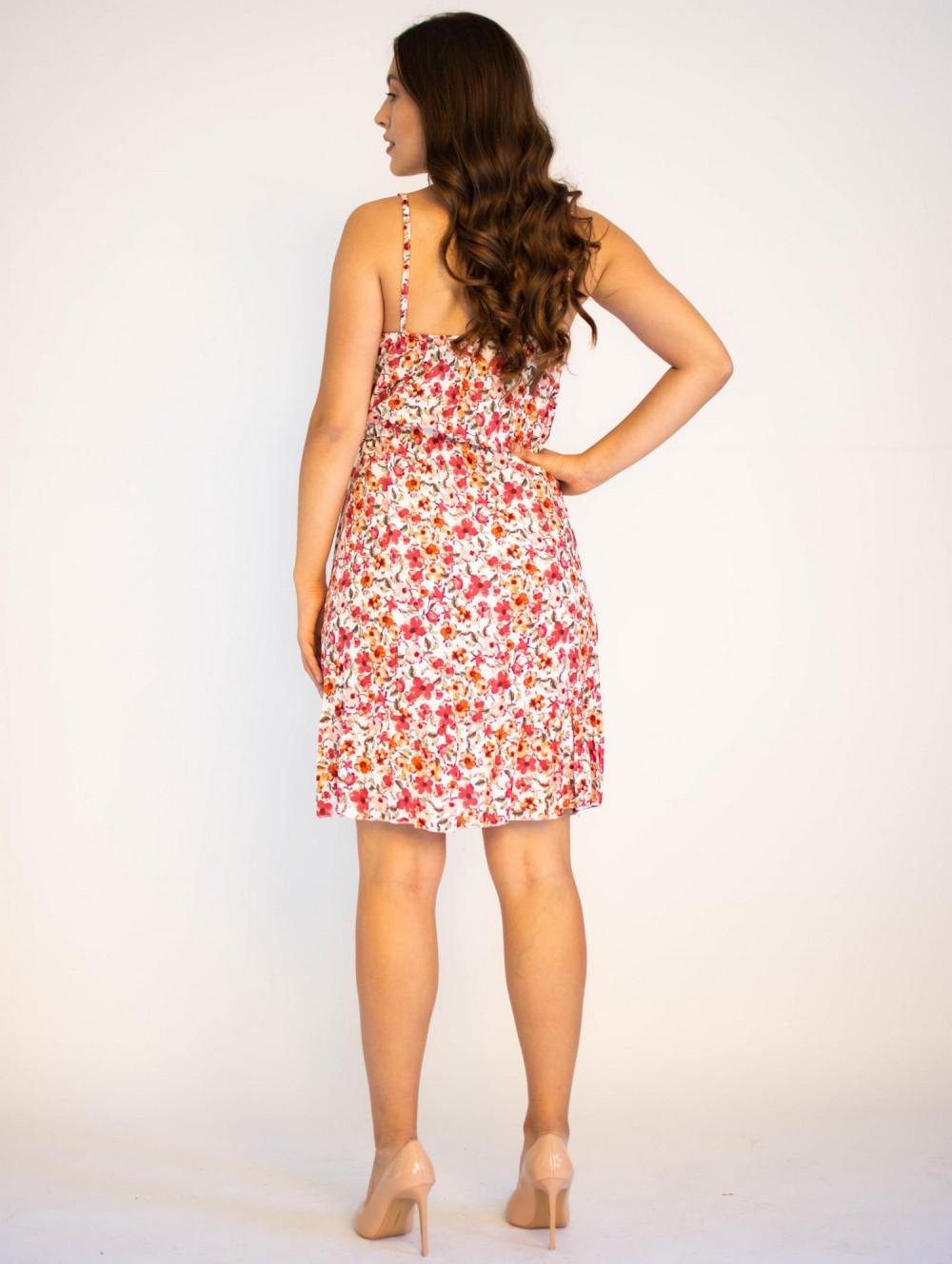 Sukienka kwiatowa na ramiączkach Danielle 1