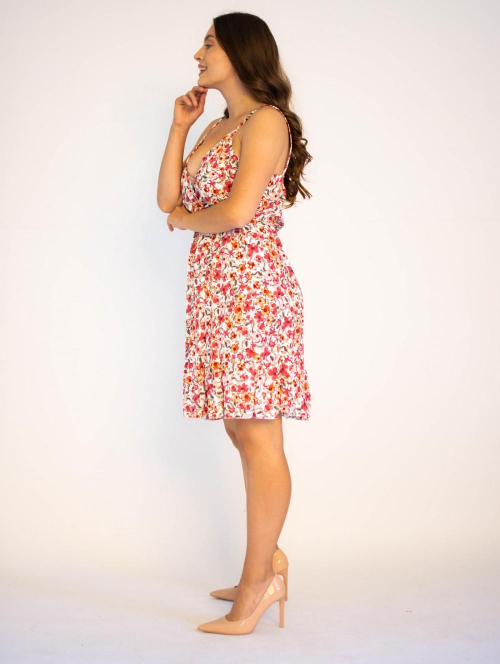 Sukienka kwiatowa na ramiączkach Danielle 2