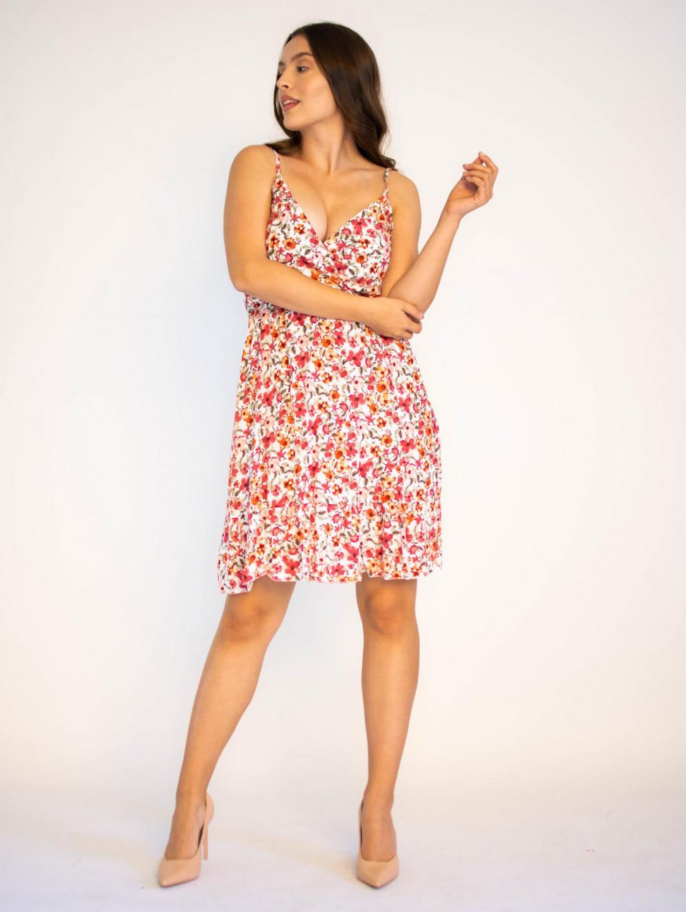 Sukienka kwiatowa na ramiączkach Danielle 3
