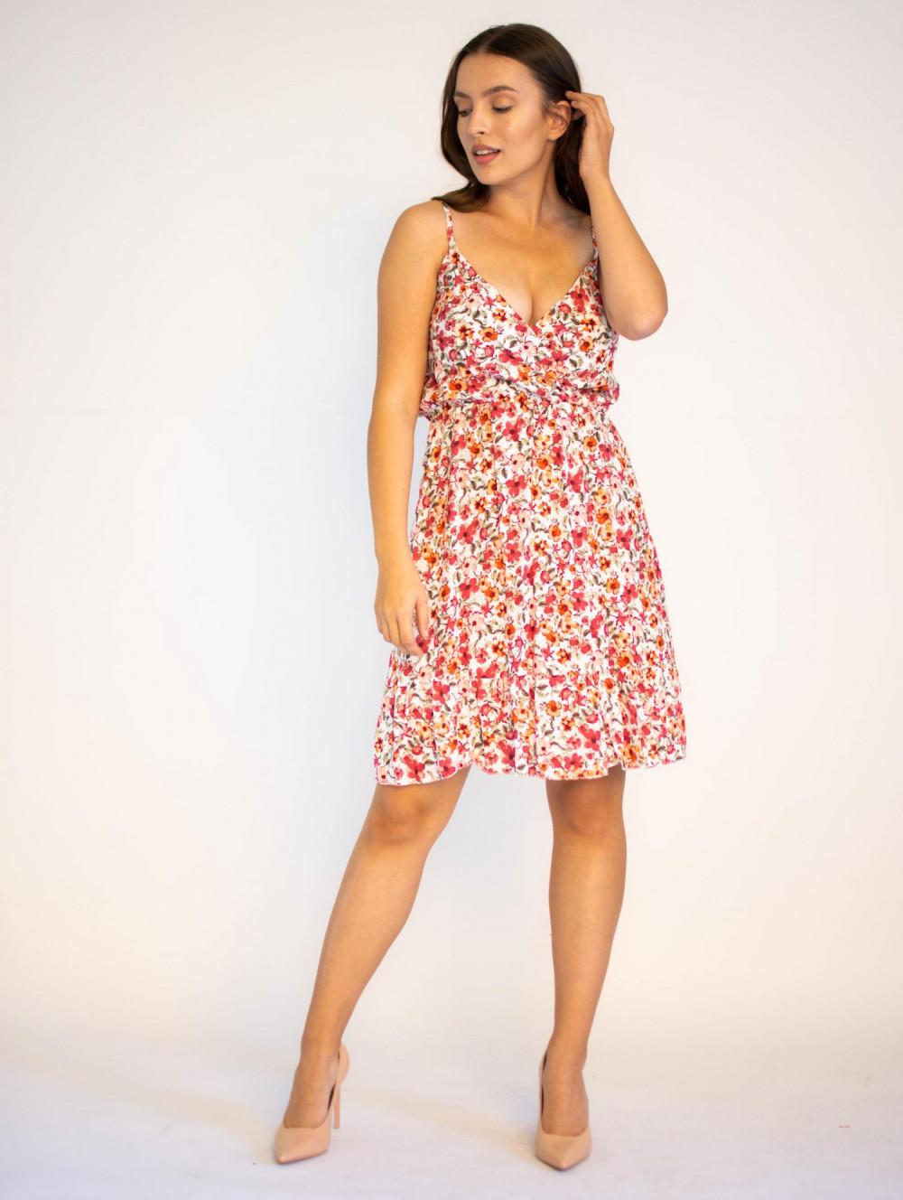 Sukienka kwiatowa na ramiączkach Danielle 4