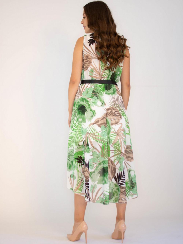 Sukienka przekładana kwiatowa Ivy 1