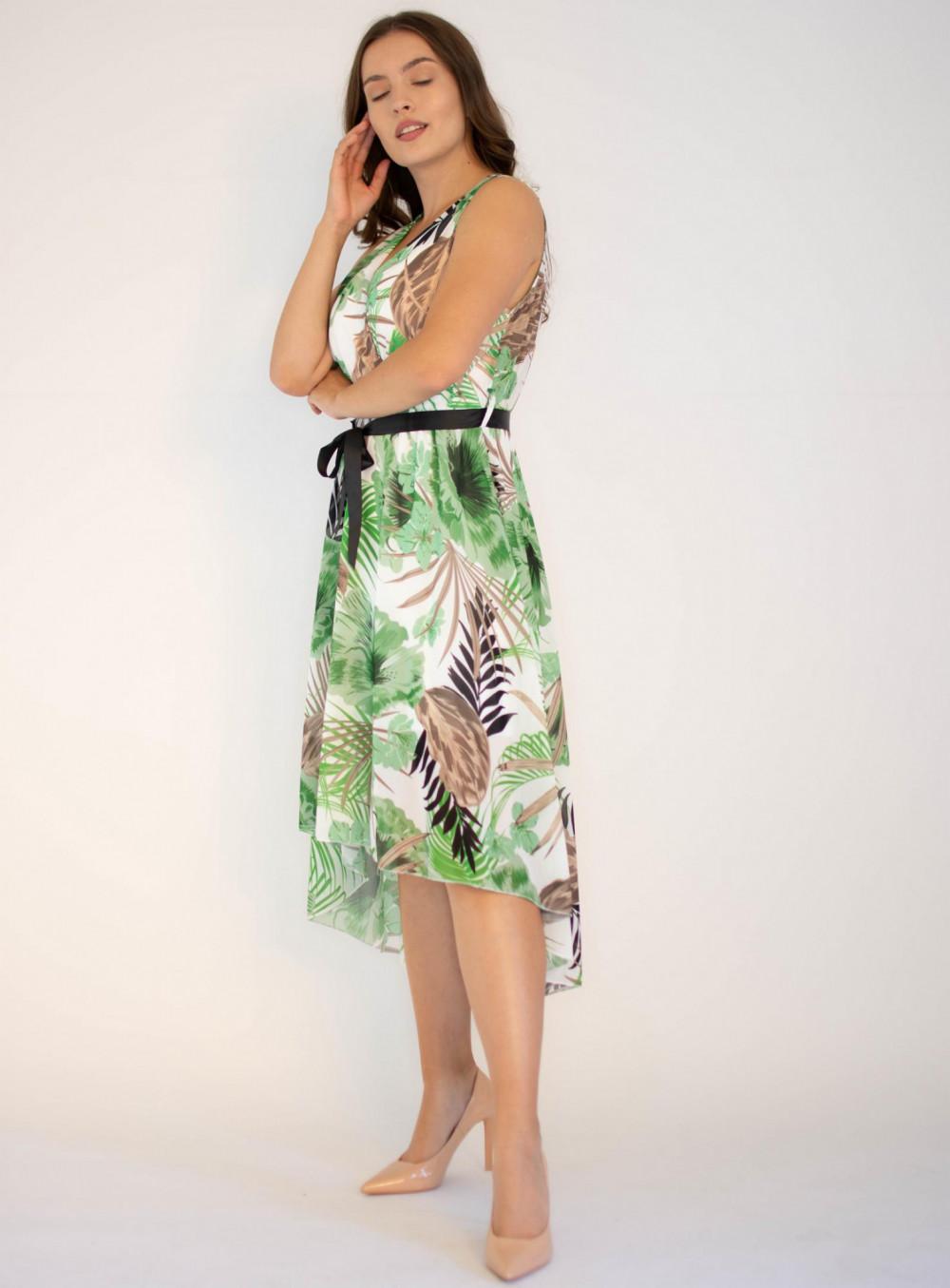Sukienka przekładana kwiatowa Ivy 2