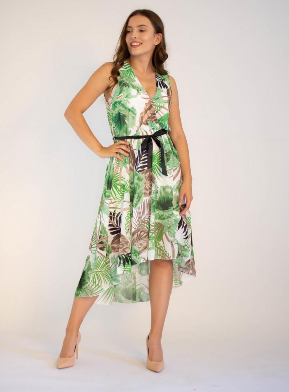 Sukienka przekładana kwiatowa Ivy 3