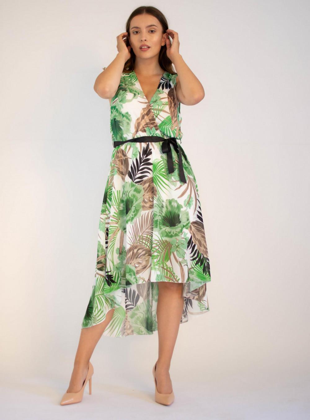 Sukienka przekładana kwiatowa Ivy 4