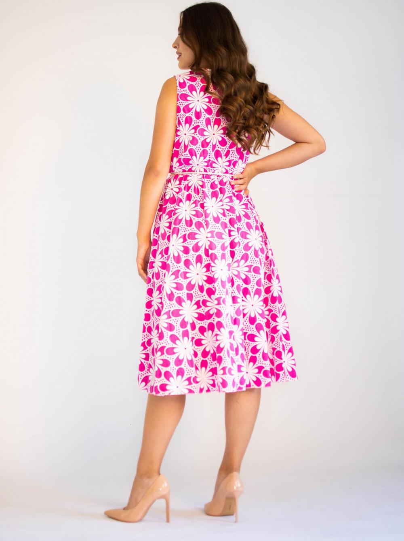 Sukienka przekładana z dekoltem V-Neck Charlotte 1