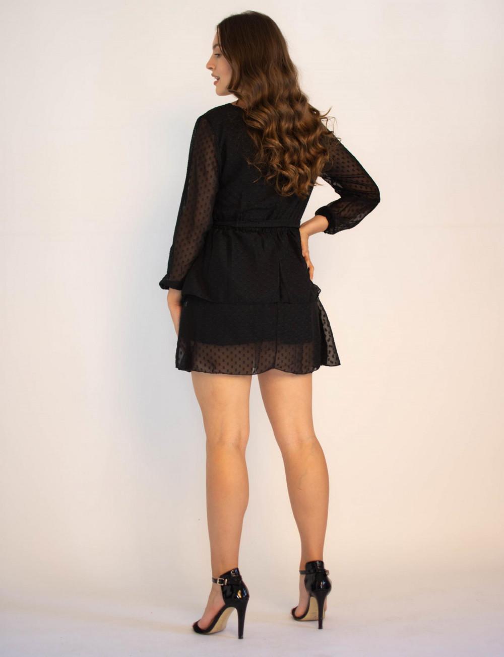 Sukienka rozkloszowana w kropki Lucy 4