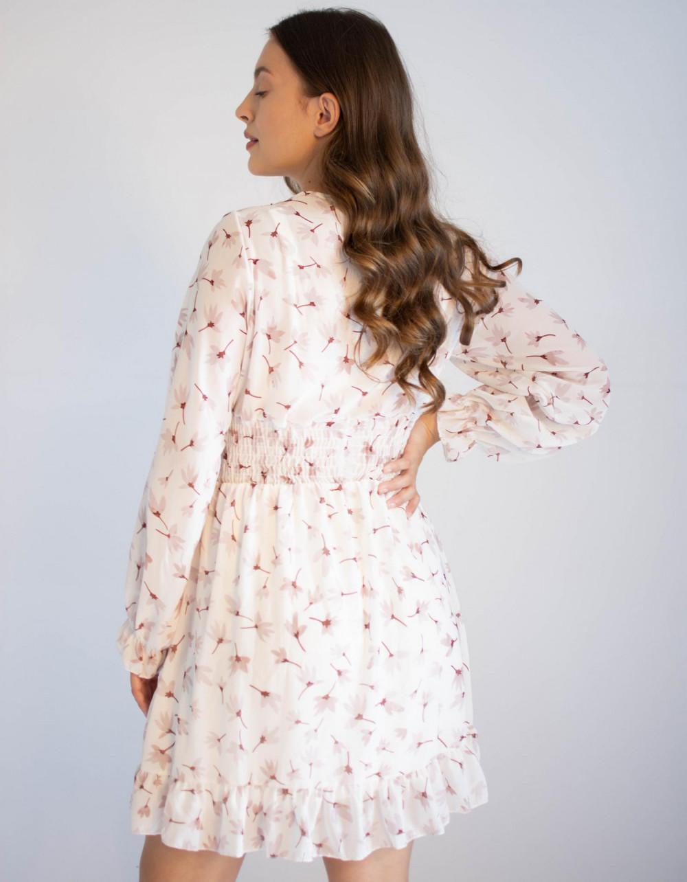 Sukienka rozkloszowana z dekoltem typu V-Neck Margaret 1