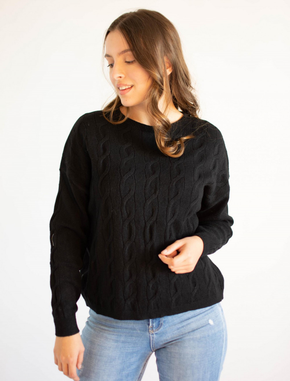 Sweter damski klasyczny Judy 1