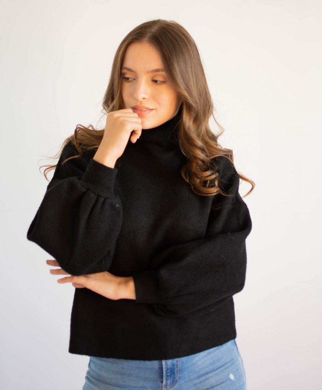 Sweter damski z golfem Jolie 2