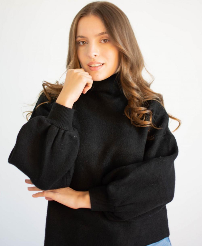 Sweter damski z golfem Jolie 3