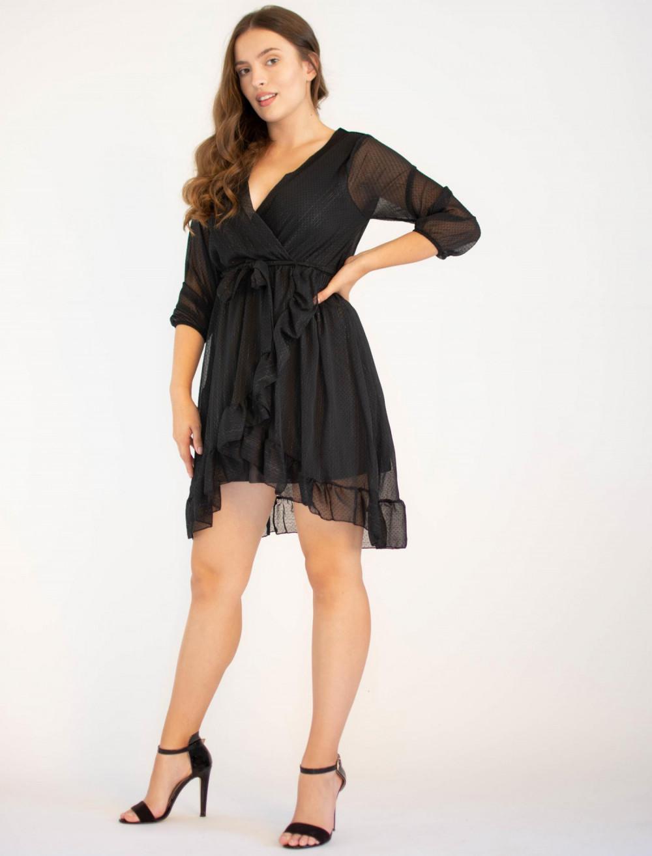 Tiulowa sukienka rozkloszowana Maeve 2