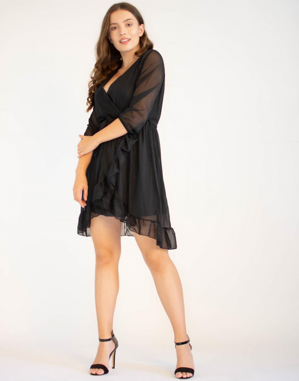 Tiulowa sukienka rozkloszowana Maeve 3