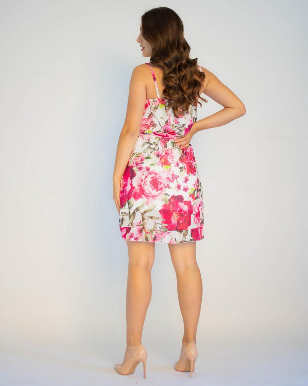 Sukienka kwiatowa na ramiączkach Annie 1