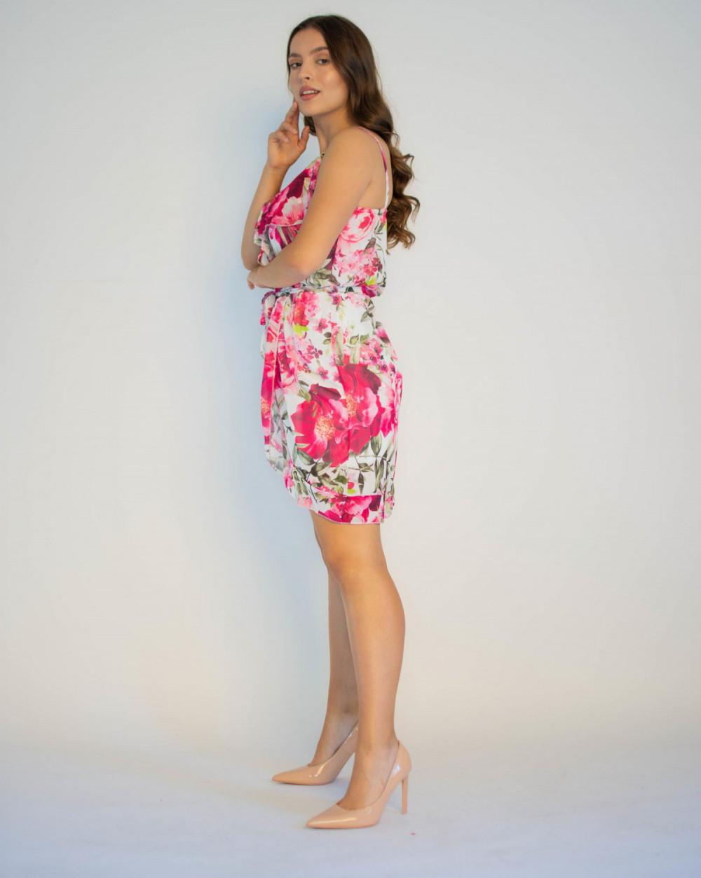 Sukienka kwiatowa na ramiączkach Annie 2