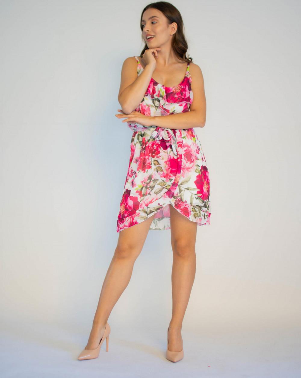 Sukienka kwiatowa na ramiączkach Annie 4