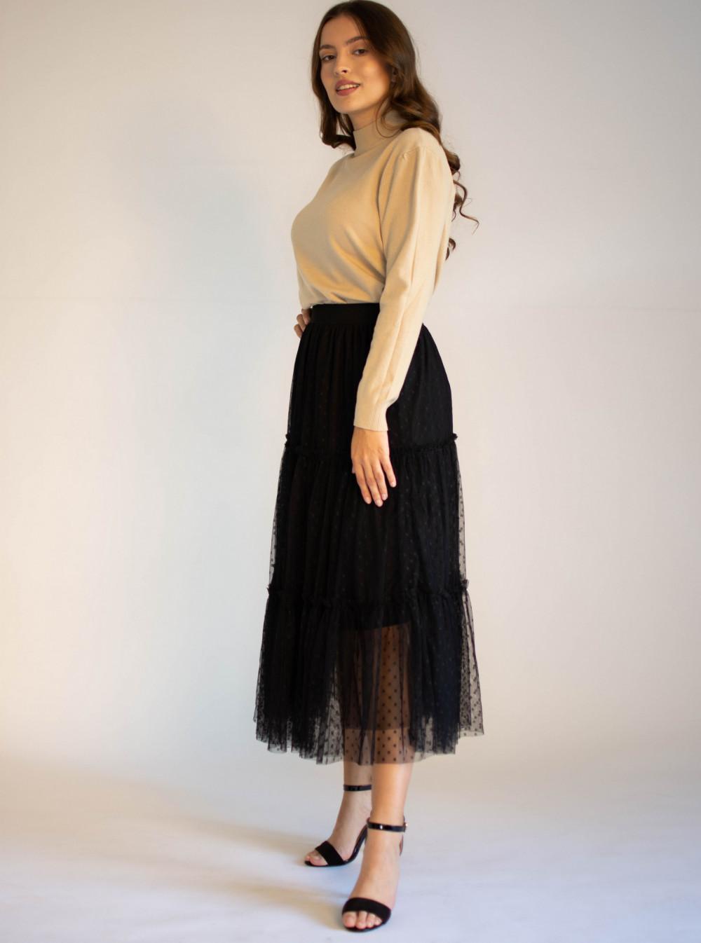 Długa tiulowa spódnica Diana 3