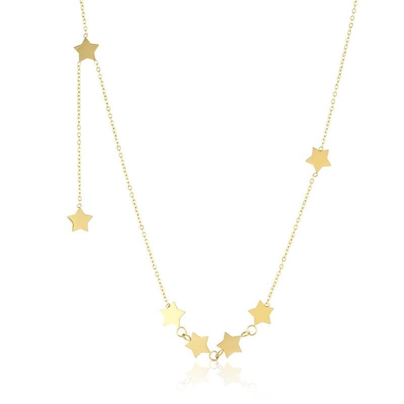 Naszyjnik celebrytka Stars Gold 1